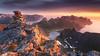 Force of Nature (-Mandraque-) Tags: landscape norvege norway senja mandraque sunset coucherdesoleil midnightsun sun light fjord mountains montagnes