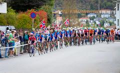 UCI Road World Championships 2017 (TimOve) Tags: 2017roadworldchampionships sykkelvm2017 bergen norway cycling meneliteroadrace sykling mesterskap 2vm norwegianflags crowd celebration competition salmonhill laksebakken