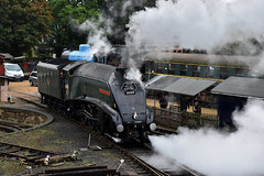Number 9 (simmonsphotography) Tags: steam locomotive engine train pacific uksteam railway railroad heritage preserved nenevalley wansford a4 gresley 60009 unionofsouthafrica lner br