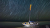 Ghost boat and the stars (Michael Seeley) Tags: beach cuki florida ghostboat hurricaneirma irma melbourne melbournebeach michaelseeley mikeseeley sailboat starstacking startrails