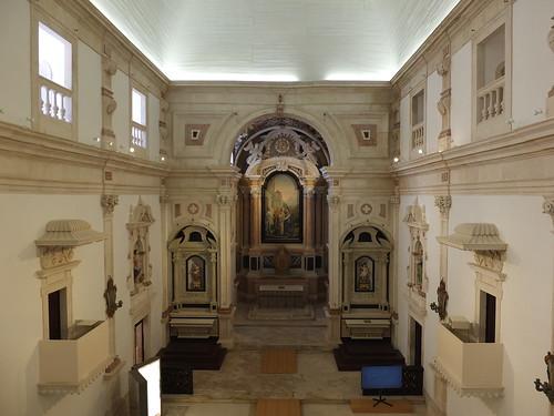Iglesia da Misericórdia - Vista desde el coro