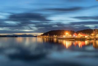 Summer evening in Scotland