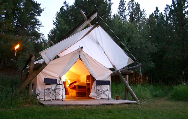 Tent Photo (3) & Glamping Tents For Sale - Glamping Canvas Tents - Davis Tent