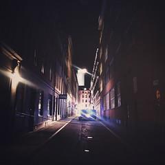 Flare (Olly Denton) Tags: night flare police terrorism lights shine light journalism photojournalism work travel dark darkness iphone iphone6 6 vsco vscocam vscostockholm vscosweden ios apple mac shotoniphone stockholm sweden