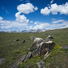 ancient path of glaciers (mtmelody14) Tags: topoftheworld mountainrange mountains beartoothmountains