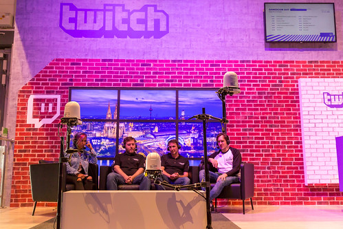 Twitch-Stand auf der Gamescom 2017 by wuestenigel, on Flickr