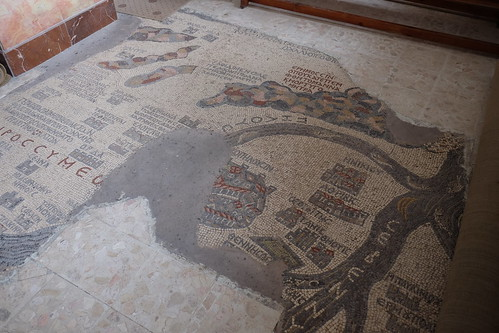 Madaba Mosaic Map