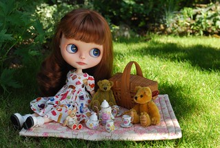 T is for teddy bears tea party