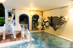 DSC08490-22 (kixkillradio) Tags: beach house miniature dollhouse dolls toy photography villas seaside vacation summer
