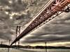 Pont Lisboa (BaK-Studio) Tags: portugal lisbonne lisboa pont rouge fer hdr poselongue canon nicepic photo