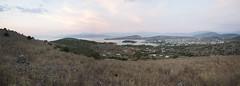 Ksamil, Albania (Tokil) Tags: ksamil albania southalbania balkans east trip travel colors mediterranean summer nature landscape sunset village hills sea panoramic view shqipëri shqipëria sunlight nikond90