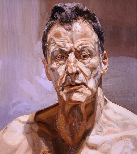 Lucian Freud, self portrait, 1985