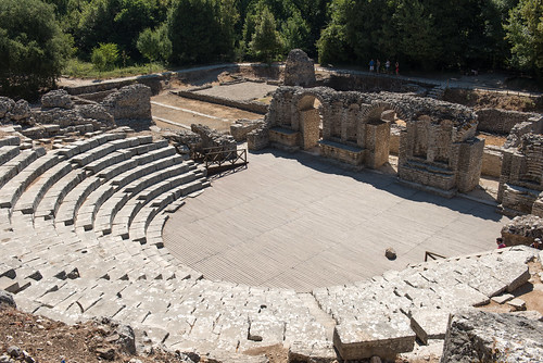 Amphi theater in Butrint