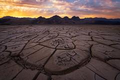 Tiles (Eddie 11uisma) Tags: death valley national park sunrise california mud cracks tiles