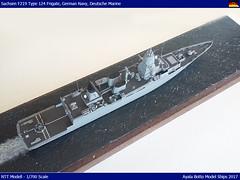 FGS Sachsen F219 - Bundesmarine / German Navy - Type 124 Frigate - NNT 1/700 by Ayala Botto Model Ships (AyalaBotto Model Ships) Tags: modelwarships scale warship scalemodelships ayalabotto modelismo modelismonaval modélismenaval echelle 1700 maquettes navires naval kits maquetas navales guerre guerra war bateaux modeles combat batiment modell class classe type klasse ffg fgs type124 sachsen f219 hamburg f220 hessen f221 frigate fragata nnt fregatte deutschenmarine deutschemarine germanynavy marineallemand lenkwaffenfregatte guided missile bundesmarine
