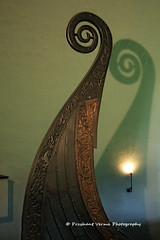 IMG_3974 (PrashantVerma) Tags: europe norway oslo viking ship museum boat wood carving pattern design old europeonflickr
