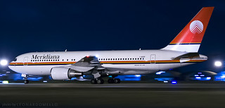 Meridiana 762 Nightpanned