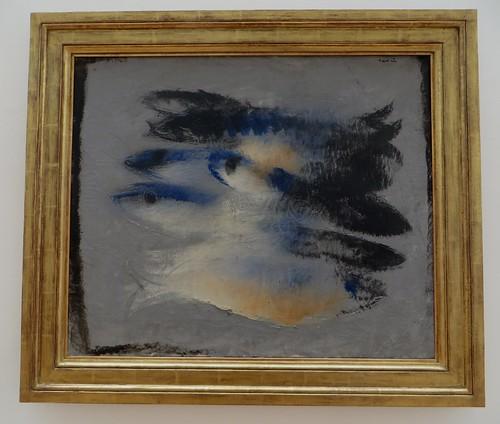 """""""Poissons"""", 1927, Jean Fautrier (1898-1964), Musée de Grenoble, Grenoble, Rhône-Alpes-Auvergne, France."""