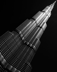 Building (eric_marchand_35) Tags: dubai uae burjkhalifa building architecture bw dubaidowntown dubaimall