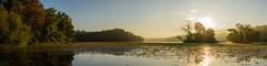 Sunrise panorama French Creek Lake (chmptr) Tags: sunrise sun landscape nature paysage panorama panoramique leverdesoleil soleil