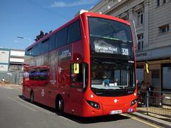 EvoStray (londonbusexplorer) Tags: tower transit volvo b5lh mcv evoseti mv38224 lj17wsd 328 chelsea workds end harrow road elgin avenue notting hill carnival golders green rare stray tfl london buses