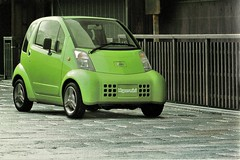 1999 Nissan Hypermini Concept (aldenjewell) Tags: 1999 nissan hypermini concept electric car brochure