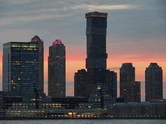 olY/225 .. NJ! (m_laRs_k) Tags: omd newjersey nj usa travel sunset hoboken hudson jersey city