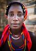 Namibia (mokyphotography) Tags: africa namibia donna woman canon work market mercato people portrait persone eyes occhi opuwo tribù tribe tribal travel village villaggio viso