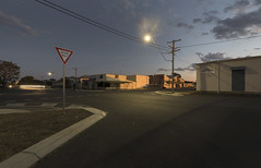 Rockhampton by Fasene - Didn't really want the light trail, but that's the 10-second timer risk.