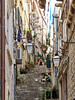 DUBROVNIK, CROATIA - old town alley/ ДУБРОВНИК, ХОРВАТИЯ - переулок старого города