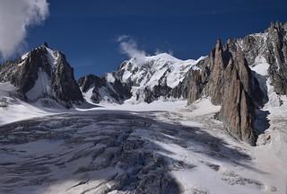 Chaos de Glacier Mont Blanc