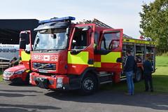 North Yorkshire - YK64GXT - York - RP (matthewleggott) Tags: elvington 999 day fire engine appliance yk64gkt north yorkshire volvo emergency one rp york