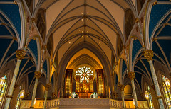 Inside The Cathedral of St. John the Baptist (Brandon Westerman WNP) Tags: inside the cathedral st john baptist savannah georgia church beautiful architecture