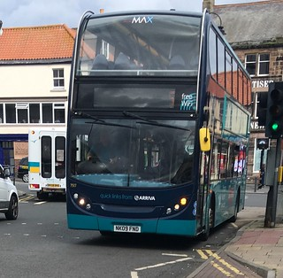 Arriva North East 7517 NK09 FND (19.08.2017)