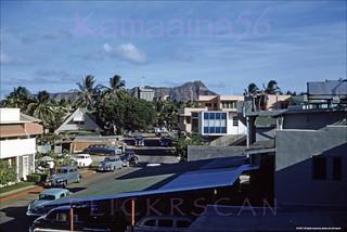 Lauula Street Waikiki 1955
