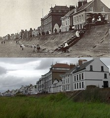 Parkgate, 1915 and 2017 (Keithjones84) Tags: birkenhead wallasey merseyside wirral thenandnow rephotography newbrighton