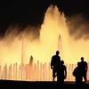 Piazza di Spagna (Zaporogo) Tags: barcellona2009 giallo fontana barcellona