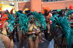 DSC_2260 Notting Hill Caribbean Carnival London Trinity Exotic Colourful Costume Dancing Lady Showgirl Performer Aug 28 2017 Stunning Ladies (photographer695) Tags: notting hill caribbean carnival london exotic colourful costume dancing lady showgirl performer aug 28 2017 trinity stunning ladies