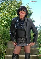 DSC_2351 (myryamdefrance) Tags: transgenre travesti transgender transvestite tranny tgirl tg tv trans talonshauts tgirlsmile cuir leather leatherskirt bottes boots basrésille bottesboots hottranny hotcrossdresser hottgirl hooker shemale sexycrossdresser sexytgirl slut sluttranny slutcrossdresser slutoutdoor slutprostituteputecum outdoor