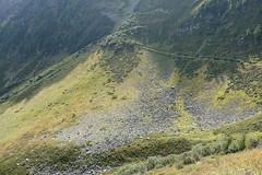 Path from Bellevue to Col du Mont Lachat @ Hike to Baraque Forestière des Rognes & Nid d'Aigle (*_*) Tags: chamonix leshouches hautesavoie 74 savoie france europe alpes alps mountain summer 2017 september été sunny hiketobaraqueforestièredesrognesniddaigle hike hiking marche randonnée pathfrombellevuetocoldumontlachat montlachat