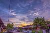 Monday's sunset (hafizrahim7) Tags: sunset sunrise street cloudy gnd tokina