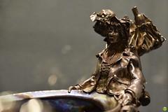 Silver figurine (petrOlly) Tags: europe europa poland polska polen gdansk gdańsk amber ambermart art object objects museum handmade