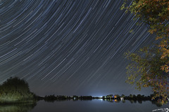 Startrail (RobertoFranchiniPhoto) Tags: star trail startrail stelle cielo sky panorama starry starrysky blue shooting cadente traccia percorso traiettoria