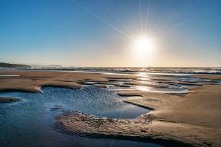 Puesta de sol en Xagó