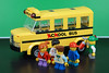 Cool sChOOL Bus! (Lesgo LEGO Foto!) Tags: lego minifig minifigs minifigure minifigures collectible collectable legophotography omg toy toys legography fun love cute coolminifig collectibleminifigures collectableminifigure schoolbus school bus cool students kid kids schoolstudents student play
