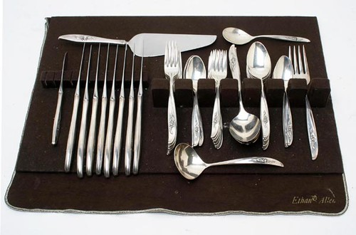 "47 pc. Wallace ""Penrose"" Sterling Flatware (62 Troy oz.) ($800.00)"