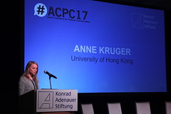 Opening the plenary by Anne Kruger