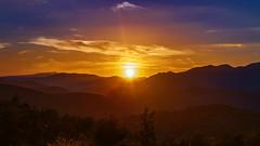 Les dernières lueurs du jour (Fofinho Onimura) Tags: sunset couché du soleil digne les bains alpes de haute provence montagne