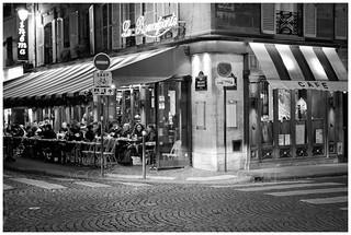 Rue Guillaume Apollinaire et Rue Bonaparte
