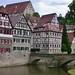 GERMANY, Schwäbisch Hall /Hohenlohe, Am Kocherufer, 75432/8876